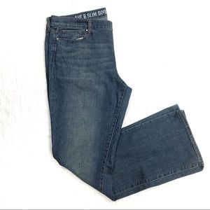 Dkny Jeans - DKNY Ave B Slim Boot Medium Wash Jeans Plus 14